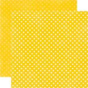 Бумага Dots Lemon Small
